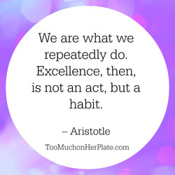We are what we 