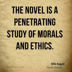 THE NOVEL IS A 