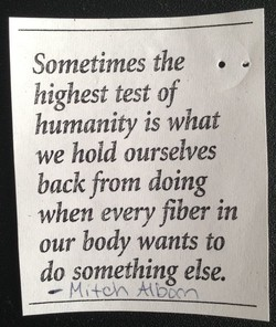 Sometimes the • 
