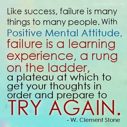 Like SUCCeSS, failure is many 