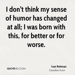I don't think my sense 