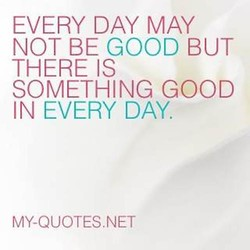 EVERY DAY MAY 