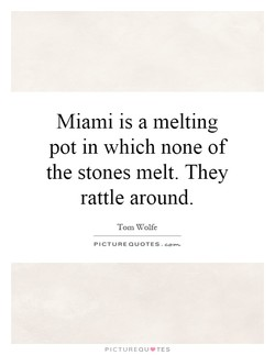 Miami is a melting 