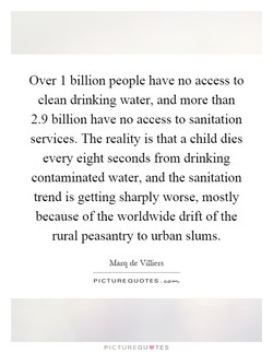 Over 1 billion people have no access to 
