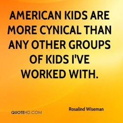 AMERICAN KIDS ARE 