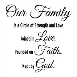 is a Circle of Strength and Love 