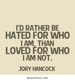 I'D RATHER BE 