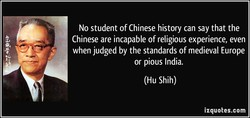 No student of Chinese history can say that the 