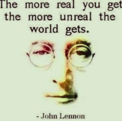 rhe more real you get 