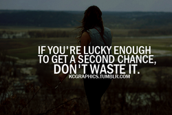 IF YOU'RE LUCKY ENOUGH 
