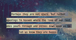 perhaps they are not stars, but rather 
