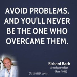 AVOID PROBLEMS, 