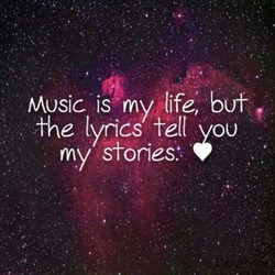Music is my plife, but 
