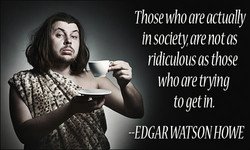 Those who are actually 