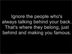 Ignore the people who's 
