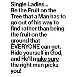 Single Ladies... 