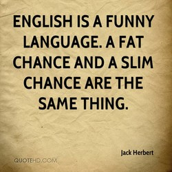 ENGLISH A FUNNY 