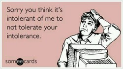 Sorry you think it's 