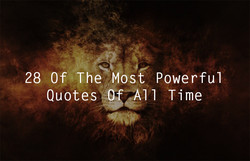 28 Of The Most Powerful 