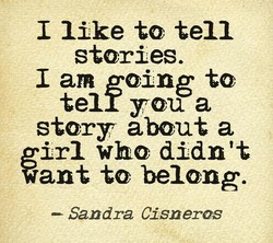 1 like to tell 
