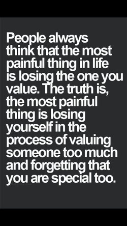 People always 