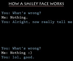 HOW A SMILEY FACE WORKS 