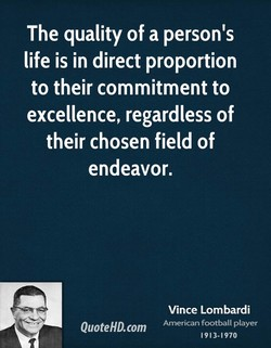 The quality of a person's 