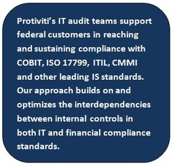 Protiviti's IT audit teams support 