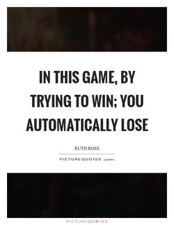 IN THIS GAME, BY 