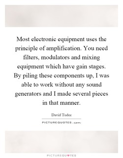 Most electronic equipment uses the 
