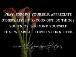 PRAY, FORGI 