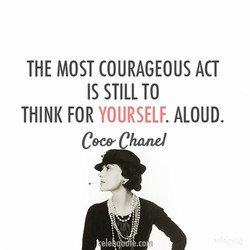 THE MOST COURAGEOUS ACT 