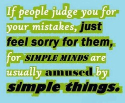 If people judge you-fora 