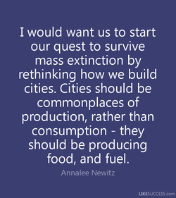 I would want us to start 