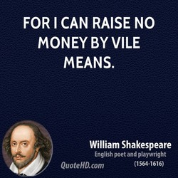 FOR I CAN RAISE NO 