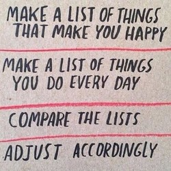MAKE A LIST 