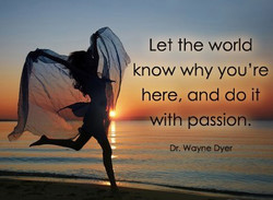 Let the world 