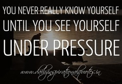 YOU KNOW YOURSELF 