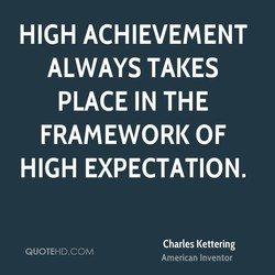 HIGH ACHIEVEMENT 