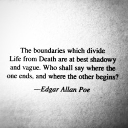 The boundaries which divide 