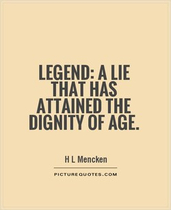 LEGEND: A LIE 
