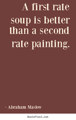 A first rate 