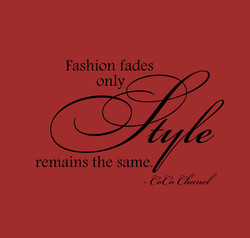 Fashion fades 