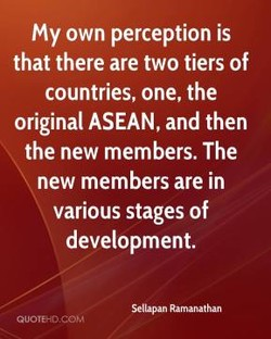 My own perception is 