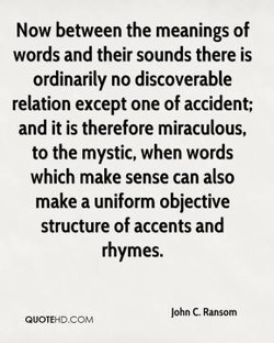 Now between the meanings of 