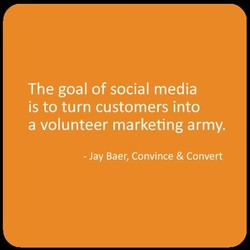The goal of social media 
