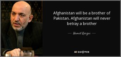 Afghanistan will be a brother of 
