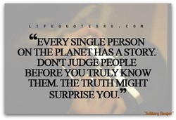 ' 'EVERY SNGLE PERSON 