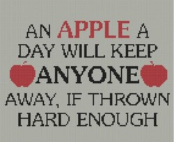 AN APPLE A 
