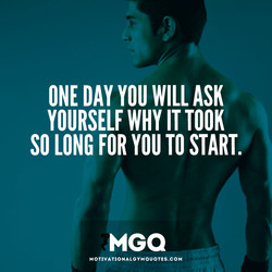 ONE DAY YOU WILL ASK 